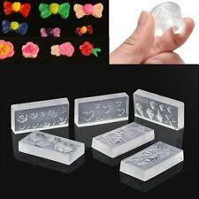 Supplies Nail Art Templates Nails Carving Mold 3D Carved Mold Nail Art Mold