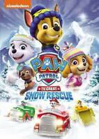 Paw Patrol: The Great Snow Rescue [New DVD] Ac-3/Dolby Digital, Dubbed, Widesc