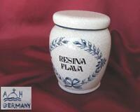 VINTAGE GERMAN HAND PAINTED PORCELAIN MEDICAL APOTHECARY JAR