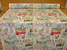 4m prestigioso Textiles Paese Vita Tessuto Di Lino-Tenda Tappezzeria Quilting
