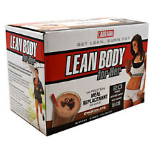 Labrada Nutrition LEAN BODY FOR HER Protein Meal Replacement 20 Packs CHOCOLATE