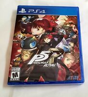 BRAND NEW! PERSONA 5 ROYAL (Playstation 4, PS4) Factory Sealed! In Hand