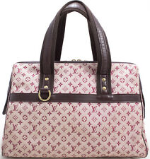 Louis Vuitton Monogram mini Josephine Bag bolso sac a main Rose rosa Super