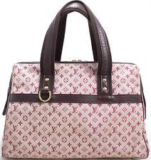 Louis Vuitton Monogram Mini JOSEPHINE Bag Tasche Sac A Main Rose Pink Rosa SUPER