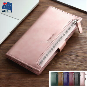 For iPhone 12 Mini Pro MAX Wallet Leather Case Flip Card Magnetic Holder Cover