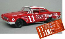 CD_847 #11 Ned Jarrett '60 Ford Starliner   1:64 Scale Decals