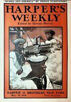 Harper's Weekly May 28 1904 Clara Barton Red Cross Morris Park Horse Race Japan