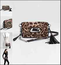 GUESS LINDSEY  COLLECTION NEW  FLAP OR CROSSBODY  BAG ANIMAL PRINT