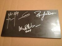 SIGNED x4 Heavy Metal Box Set LIMITED - 4 CD 2007 Rhino Marshall Amp Ronnie Dio