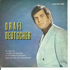 7'EP Drafi Deutscher  >Du und Ich+3<  ROMANIA/Rümanien Electrecord!!!