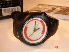 Reloj deportivo Nike BOGOF Triax Análogo de Super Correa Negra Hombre Mujer 20-101 Nuevo