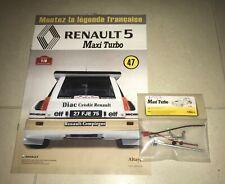 renault 5 maxi turbo 1/8 altaya 47