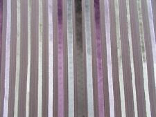 Zoffany Curtain/Upholstery Fabric 'ROSSINI' 2 METRES Chocolate/Mauve Cut Velvet