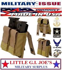 USMC Coyote Military Issue Kydex Double Magazine Pouch SIG M9 9mm Beretta Glock