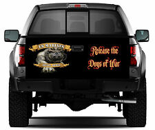 USMC Devil Dogs #02 Truck Tailgate Vinyl Graphic Decal Sticker Wrap