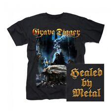 GRAVE DIGGER - Healed By Metal - T-Shirt - Größe Size M - Neu