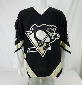 Reebok Jordan Staal #11 NHL Pittsburgh Penguins Jersey Black Men's Size 50