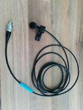 Sennheiser MKE GOLD 2-4 Black clip-on lapel Microphone +Pop+Clip USED