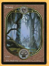 Vintage Magic | MTG Unglued Swamp Full Artwork Basic Land | NM/Mint UNPLAYED