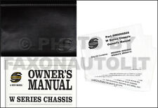 2006 Workhorse Motor Home Chassis Owners Manual Motorhome W18 W22 W24 W300