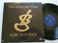 THE STONE BROTHERS - More Than Rock PRIVATE 70's Xian AOR Rural Rock (LP)