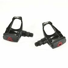 Wellgo W-40 Road Alloy LOOK ARC Pedals Pair , Black