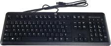 HP Brazil Smartcard CCID USB Keyboard New 700847-201 701671-201