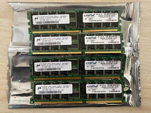 4GB (4x1GB) Crucial PC2100R-25331-Z, CT12872Y265.18LTD4Y Server RAM
