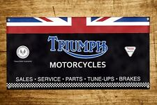 Custom Triumph Motorcycles Banner 2ft x 4ft