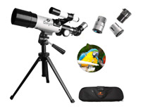 Gskyer AZ60350 German Technology Travel Refractor Astronomy Telescope