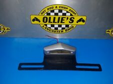 Vintage Hollywood Accessories License Plate Light & Bracket Airstream Hot Rod