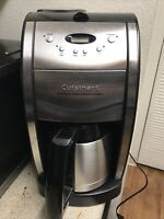 Cuisinart DGB-600BC Automatic Grind & Brew THERMAL POT 10 Cup Coffee Maker