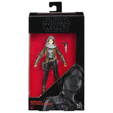 "STAR WARS SERGENT JYN ERSO THE BLACK SÉRIE 6"" HASBRO FIGURINE D'ACTION"