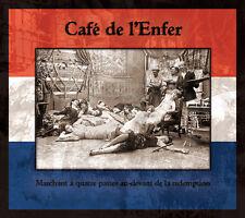 CAFÉ DE L'ENFER - Marchant à quatre CD DERNIERE VOLONTE Death in June Blood Axis