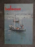 Revue magazine BATEAUX n°23 avril 1960 / Monaco Concarneau Ile de Ré