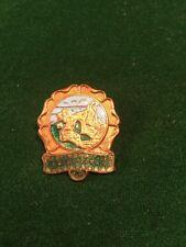 Lawn Bowls Enamel Badge Hastings & St. Leonards Ladies Bowling Tournament