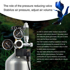 Accessories Aquarium Pressure Regulator CO2 System Reducer Fish Tank Dual Gauge