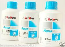 MAX MEYER AQUAMAX EXTRA TINTA BASE AD ACQUA E350 390 441 220 546 585 600 610 780