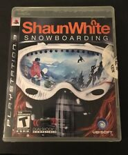 Shaun White Snowboarding (Sony PlayStation 3, 2008) Tested & Complete!