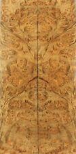 Bookmatch inlay Wood Birdseye Golden Camphor Box Making marquetry veneer ZS101