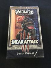 Warlord Sneak Attack Dwarf Warlord Factory Sealed