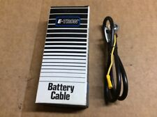 """New E-Tron Battery Cable S-35-4 / Side Term With Ground Lead 35"""" 4 Gauge"""