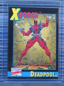1991 Impel Marvel Universe Series 2 Deadpool Promo Card #3 (A) P48