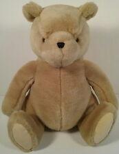 "Classic Winnie the Pooh Large Sitting Teddy Bear Plush Toy 12"" Tall GUND #7921"