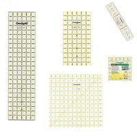 Prym Selection Of Omnigrid Patchwork Rulers Quilting Sewing Craft