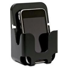 Lorell Cubicle Cellphone Holder, Recycled, Black 80672