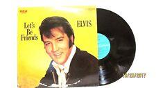 1970 Elvis Lets Be Friends RCA Camden Vinyl LP 33 CAS 2408 Rock