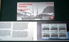 Greenland Stamp Booklet #06 1998 Sailing Ships - CTO - EXCELLENT!