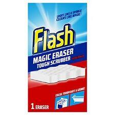 Flash Magic Eraser Extra Power Sponge Stain & Scuff Remover ReUsable FREE P&P