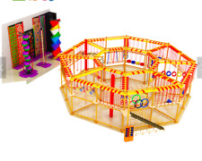 8 Rock Climbing Walls $ Towers and 50x50x25 Rope Course Playgrounds We Finance